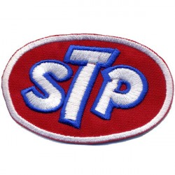 STP 2 pcs embroidered/badge patches L 7,5 H 4,8 cm 2 pcs