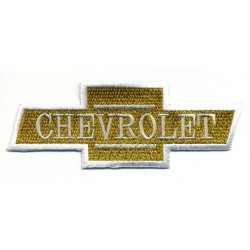 CHEVROLET 2 pcs embroidered/badge patches L 10 cm H 4 cm