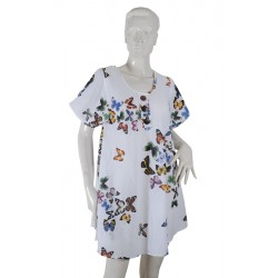 ABSOLUT4U Tunic short sleeve butterfly