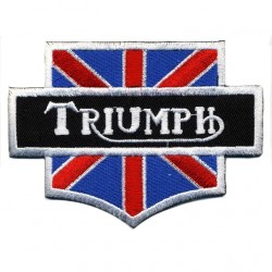 "TRIUMPH embroidered/badge patches L 9,5 cm""H 6,8 cm"
