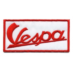 "VESPA embroidered/badge patches L 10.5 cm ""H 5 cm"