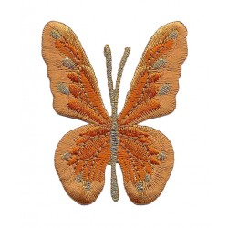 BUTTERFLY embroidered/badge patches L 6,5 cmH 6 cm