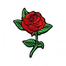 ROSE embroidered/badge patches L 5 cm H 8 cm