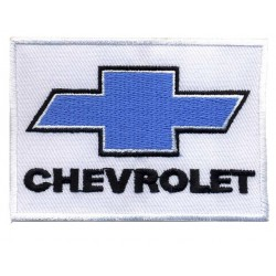 "CHEVROLET 2 pcs embroidered/badge patches L 7 cm ""H 5,5 cm"