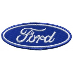 "FORD 2 pcs embroidered/badge patches L 8 cm ""H 3 cm"