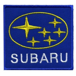 "SUBARU 2 pcsembroidered/badge patches L 6,5 cm ""H 6,5 cm"