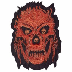 "FIRE embroidered/badge patches ""B 95 mm L120 mm"