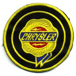 CHRYSLER 2 pcs embroidered/badge patches D 7 cm