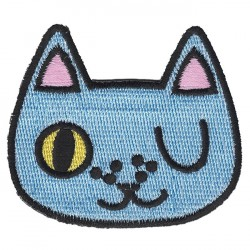 "CAT embroidered/badge patches L 7 cm ""H 6 cm"
