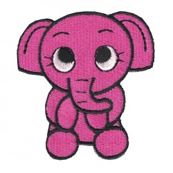 DUMBO embroidered/badge patches L 5 cm H 7 cm