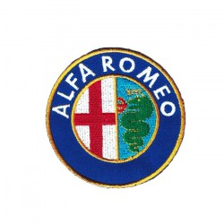 Alfa Romeo embroidered/badge patches D 75 mm