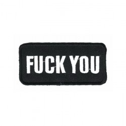 F..YOU embroidered/badge patches B 40 mm L80 mm
