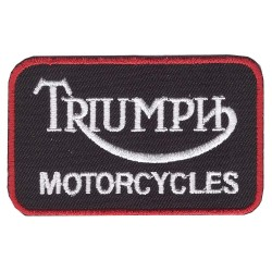 Triumph embroidered/badge patches B 50 mm L 80 mm