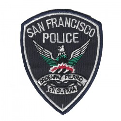 San Francisco embroidered/badge patches B 78 mm L 88 mm