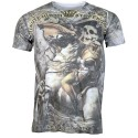 ZAALAC Angel Cupid Heaven Rose Rock Biker Casual Fashion