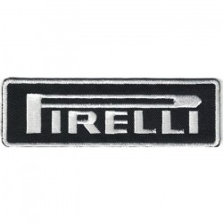 """PIRELLI embroidered/badge patches L 11,5 """"H 3,5"""