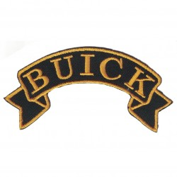 "BUICK embroidered/badge patches L 9 cm ""H 2,5 cm"