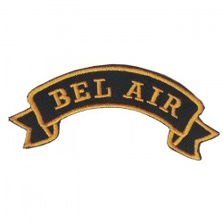"BEL AIR embroidered/badge patches L 9 cm ""H 2,5 cm"