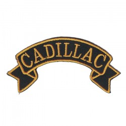 "CADILLAC embroidered/badge patches L 9 cm ""H 2,5 cm"