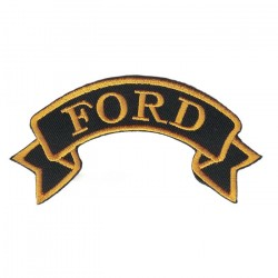 "FORD embroidered/badge patches L 9 cm ""H 2,5 cm"