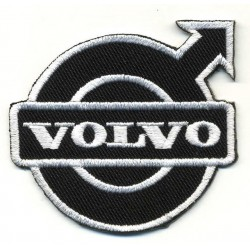 VOLVO 2 pcs embroidered/badge patches D 4,5 cm