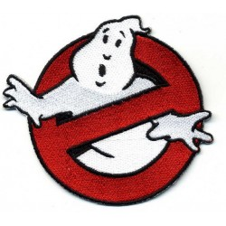 GHOST BUSTER 2 pcs embroidered/badge patches D 8,5 cm