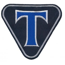 TRIUMPH 2 pcs embroidered/badge patches L 10 cm H 8,5 cm