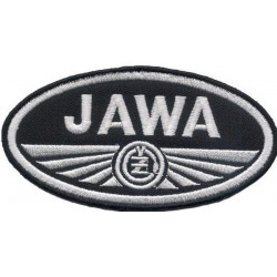 JAWA 2 pcs embroidered/badge patches L 9 cm H 4,5