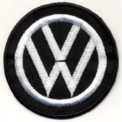 WOLKSVAGEN 2 pcs embroidered/badge patches D 7 cm