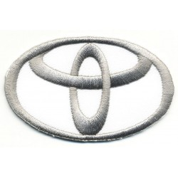"""TOYOTA embroidered/badge patches L 7,5 """"H 4,8 cm"""