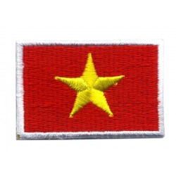 VIETNAM FLAGGA 4 PACK