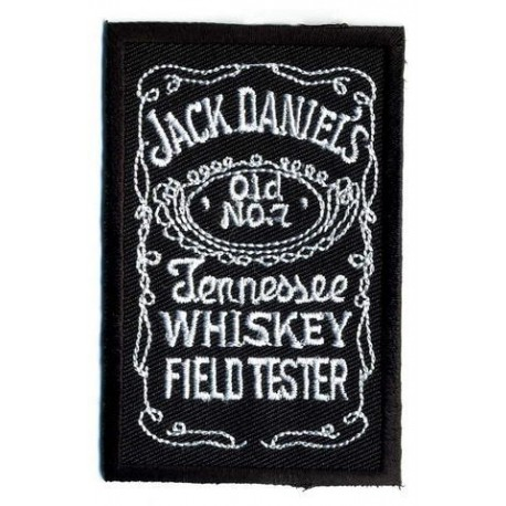 """JACK DANIELS embroidered/badge patches L 8 cm""""H 4,5 cm"""
