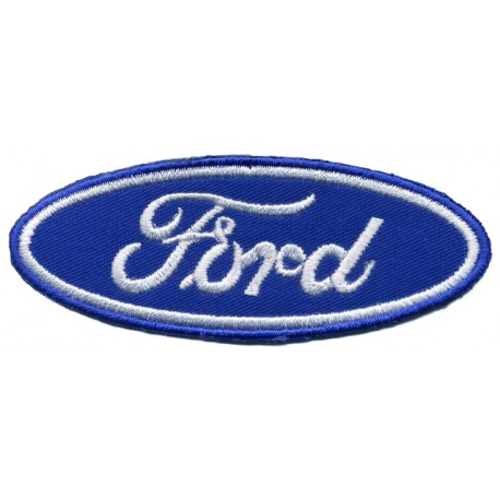 """FORD embroidered/badge patches L 8 cm """"H 3 cm"""